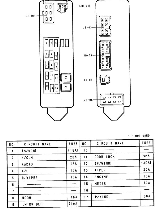 ... Mazda Protege electrical short starting problem – Ignition Wiring Diagram For Mazda Protege ...