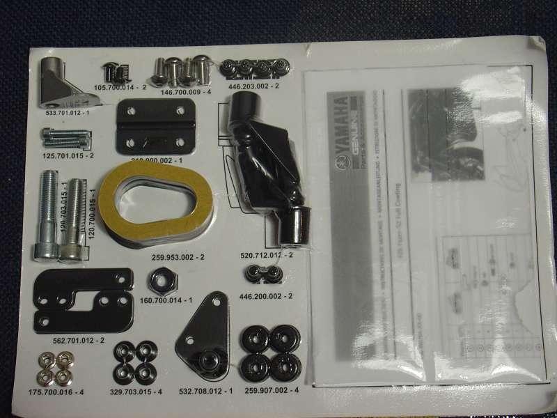 Kit carenado lateral completo - FZ6 / Fazer 600 Attachment