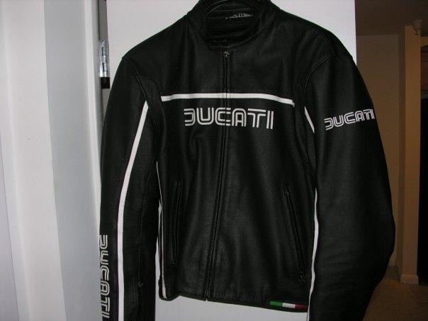 ducati retro dainese jacket - size 58