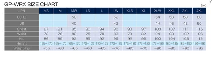 Name:  RS Taichi Size Chart.JPG Views: 97 Size:  29.2 KB